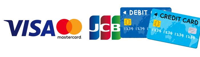 クレジットカード/デビットカードでオンラインカジノに入金