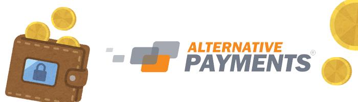 エコペイズで入出金したい場合はAlternative Payments(暗号通貨で振込)を利用しよう