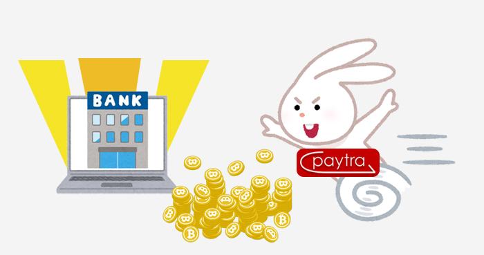 Paytra(ペイトラ)のスピードをフルに活用するにはネット銀行を使おう