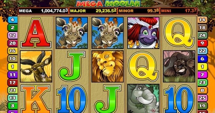 Mega Moolah(メガムーラン/メガムーラー)