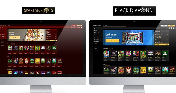 【ライセンス無し】Spartan Slotsカジノ/Black Diamondカジノなど
