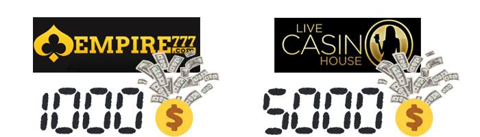多くのカジノではコンプポイントやリベートが付くための必要賭け額が設定されている