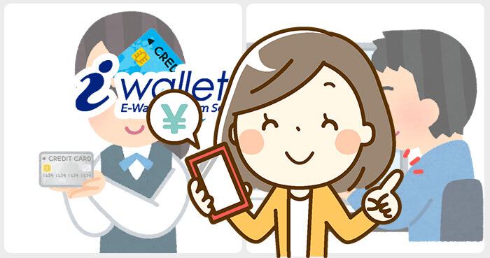 iWallet(アイウォレット)のクレジットカード入金方法