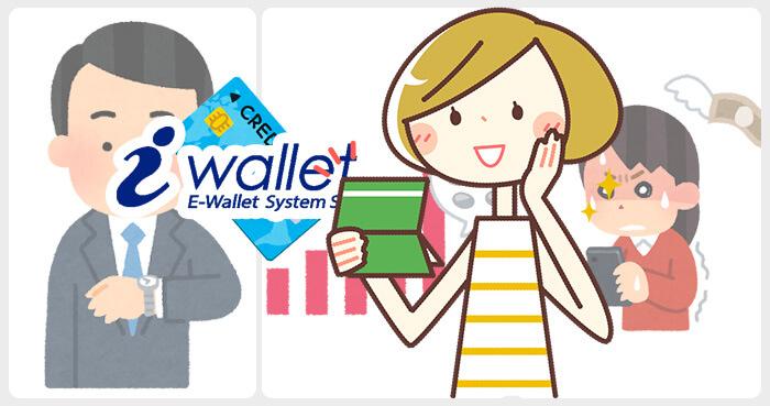 iWallet(アイウォレット)のクレジットカード入金の反映時間と入金限度額・手数料