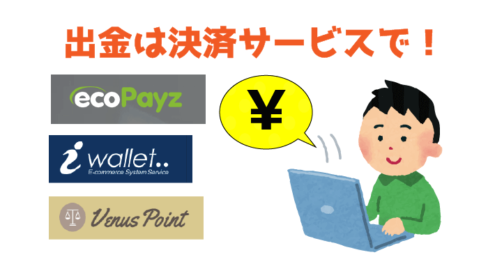 JOY CASINO(ジョイカジノ)でJCBカード入金時の出金方法